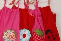 šití šatičky / šití sewing