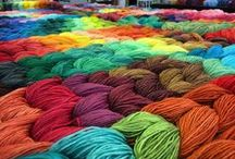 Yarn Color Explosion / Our brightest and shiniest yarns. Hand painted. With Love.