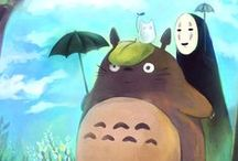 Magnificent Ghibli <3 / The beautiful, enchanting characters created by Studio Ghibli, brought to awaken our inner child :)