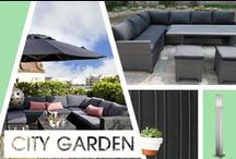City Garden / Inspiration for making the most out of small garden spaces in city areas