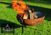 Kadai Firebowl / The Kadai is a versatile robust Barbecue & Firebowl ideal for alfresco cooking & socialising. Once used for cooking at festivals across India, these Kadai's now make fabulous barbecue fire bowls. Kadai Firebowls provide the authentic firebowl, hand made in India. Visit www.kadai.com.