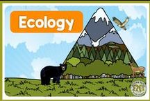 Ecology / Ecology Lessons and Activities - Ecosystems, biomes, interdependence of organisms, and all things ecology for teachers.