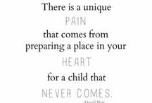 Grief / Supportive words to cope with miscarriage grief.