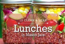 Mason jar salad goodness