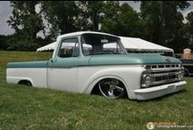 Ford F100 / This is a board full of sick old Ford F100's that I've found online. / by David Batterson