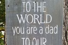 Father's Day Gift Inspiration / Find some inspiration for the perfect father's day gift
