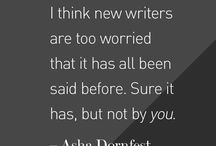Writing / Writing Tips, Writing Prompts, Character Development... You Name It