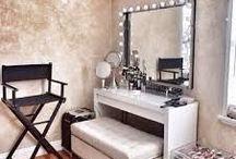 Vanity / Make-up room / Here's some make-up room / vanity room inspiration