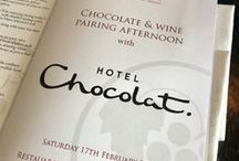 Chocolate and wine matching with Hotel Chocolat / Chocolate and Wine tasting afternoon at Restaurant 1539, Chester Racecourse featuring Hotel Chocolat.
