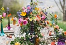 FLOWERS and WEDDING / by ina la vie