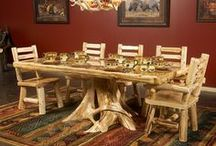 Rustic Dining And Bar Furniture And Decor / Make Every Dining Occasion  Extra Special With Hand