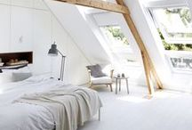 Daylight in bedrooms / Find loft bedroom design ideas & attic room photos in traditional or contemporary decorating styles. Clever use of VELUX roof windows & skylights will add a dramatic effect to your bedroom.  Save money on your loft conversion when you buy your windows at Sterlingbuild: sterlingbuild.co.uk.