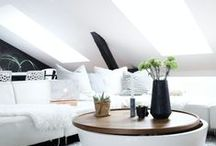 Daylight in living spaces / Add daylight to your living space with a stylish roof window, skylight or sun tunnel: www.sterlingbuild.co.uk.