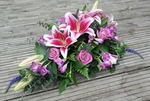 Funeral sprays / Funeral sprays by Jo Beth floral design