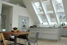 Stunning roof window features / To make a real impact with your roof windows, install more than one roof window. Now, it's an affordable option http://ow.ly/DRXOD.