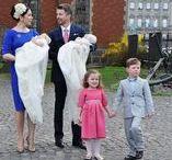 Frederik a Mary svadba, krsty / dánska kráľovská rodina
