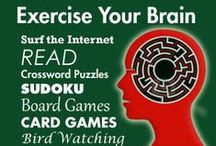 Exercises For Your Brain / Find lots of stimulating brain exercises at IQ Catch. www.IQCatch.com