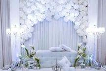 Décors de mariage intérieur / Découvrez de très belles photos d'inspiration pour votre décor de mariage en intérieur.