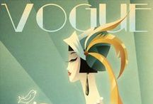 Art Deco Inspiration / Beautiful vintage style. / by Wonderland Graphic Design
