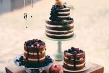 Food:  Wedding cakes and truffles / Wedding cakes and truffles.  Mostly naked cakes, and healthy truffles.  Gluten, dairy and refined sugar free inspiration.