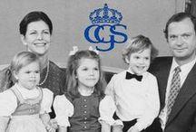 ŠVEDSKA KRALOVSKA RODINA mladosť