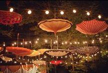 Jolies lumières / Une sélection des plus belles lumières pour votre décor de mariage.