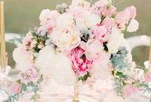 Jolis centres de table / Une sélection des plus beaux centres de table pour votre mariage.