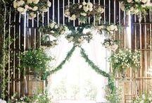 Jolies cérémonies / Une sélection des plus beaux décors de cérémonie.