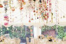 Décors suspendus / Une sélection des plus beaux décors suspendus pour votre mariage.