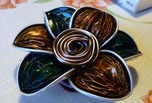 des idées avec des capsules nespresso / recycler des capsules pour faire des bijoux