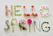Lente / Spring / Don't you love spring?  I sure do!!