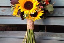 Sunflower Wedding / Stef and David's Autumnal Wedding with flowers by Jo Beth floral design