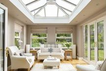 Daylight in orangeries & conservatories / Lantern and pyramid flat roof skylights are the best way to add light to your orangery or conservatory. Check out our range for unbeatable value http://www.sterlingbuild.co.uk/products/flat-roof-windows/lanterns