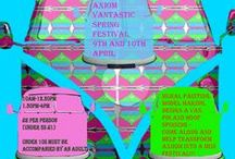 Axiom Vantastic Festival / Mural painting workshop 9th and 10th April 2015