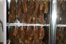 Industrial Biltong Drying Cabinets / Industrial equipment for the manufacture of biltong and droëwors (Dried sauasage)
