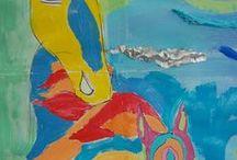 20,000 Dreams Under the Sea / Mural painting at Axiom Arts