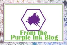 From The Purple Ink Blog / Advice and thoughts from our company blog.