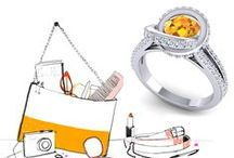 Women designer rings / Discover designer rings for women by Azeera.  Combine your look with Azeera's best designed & crafted rings. Shop by price, size, stone and more.