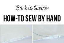 Sewing Tips + Tutorials