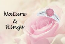Nature & Rings / Beautiful Rings in the backdrop of Nature...
