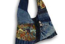 Tela Bolsos Costura / Inspiración. Ideas de bolsos en tela para confeccionar