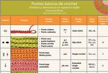 Ganchillo. Esquemas Patrones Técnicas Crochet / Esquemas, patrones, técnicas de ganchillo crochet
