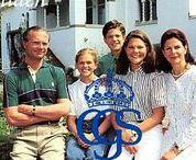 ŠVEDSKA  kráľovska rodina mladosť 2