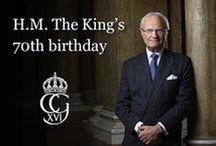 Kráľ Carl Gustaf  XVI spomienkový
