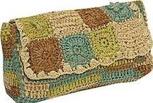 Ganchillo Carteras de mano crochet / Inspiración.  Carteras de mano hechos a ganchillo, crochet o tejidos