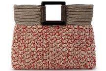Ganchillo Bolsos de mano o maletín crochet / Inspiración. Bolsos de mano o maletín realizados a ganchillo, crochet o tejidos