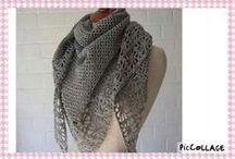 Ganchillo chal crochet