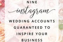 Resources for Wedding Professionals / Resources and ideas for wedding professionals, entrepreneurs, businesses and bridal bloggers. Links to help for names, office planners, fonts, social media, free printable, design and business tips. / by Wonderland Graphic Design for Your Wedding Business Brand