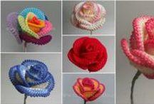 Ganchillo Flores crochet
