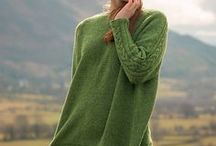 Sweater Knitting Patterns | The Fibre Co. / Sweater knitting patterns using The Fibre Co. yarn. Pullovers knit using The Fibre Co. yarn.